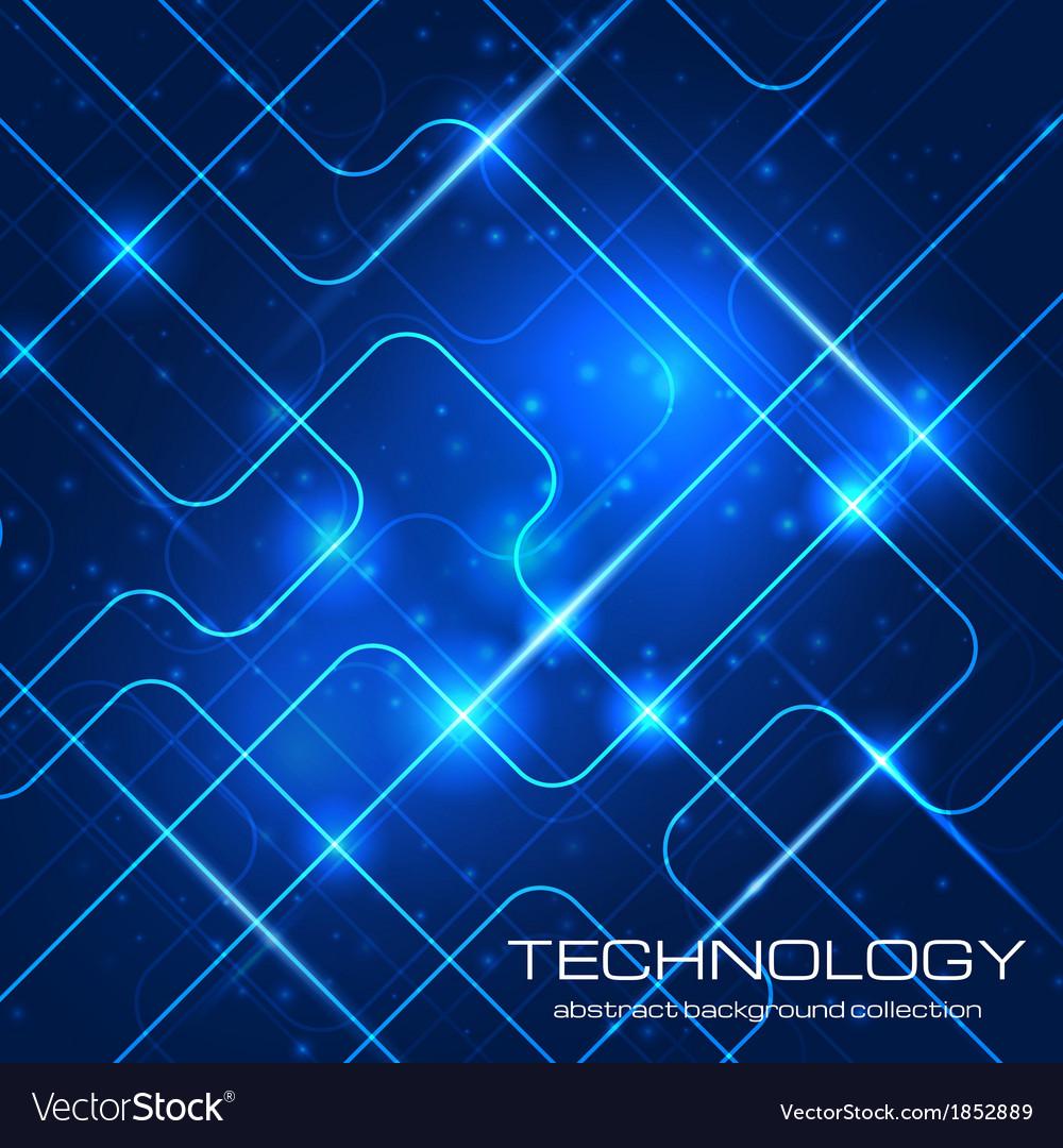 Bright technology background