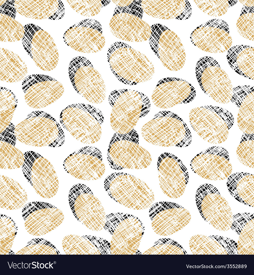 Eggs seamless pattern