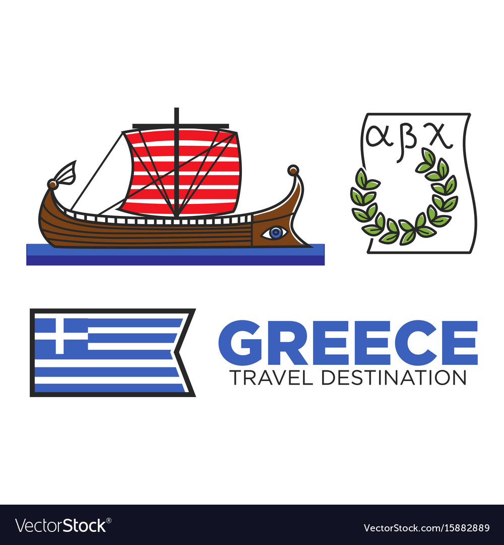 Greece travel destination famous tourist landmarks