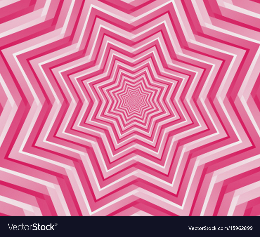 Abstract pink geometric design background vector image
