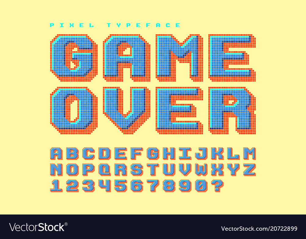 8 bit free font