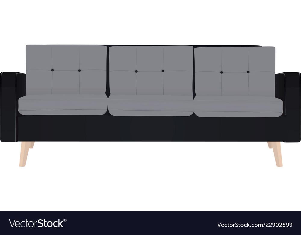 Seat Sofa Royalty Free Vector Image