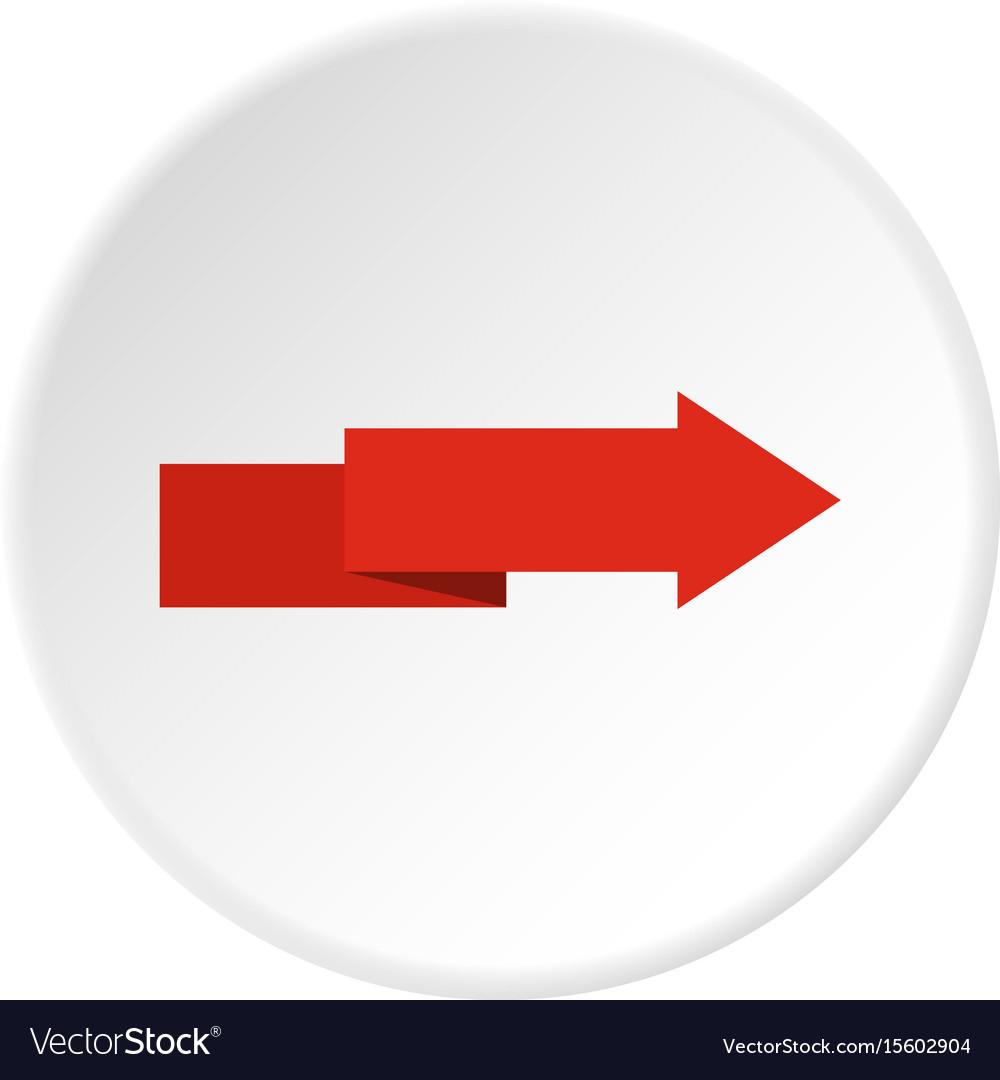 Arrow to right icon circle