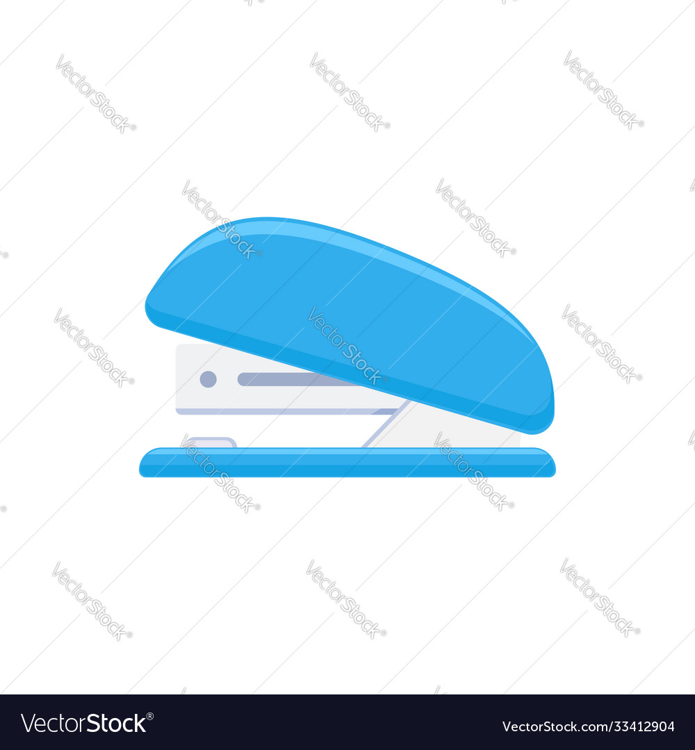 Stapler tacker isolated on white background