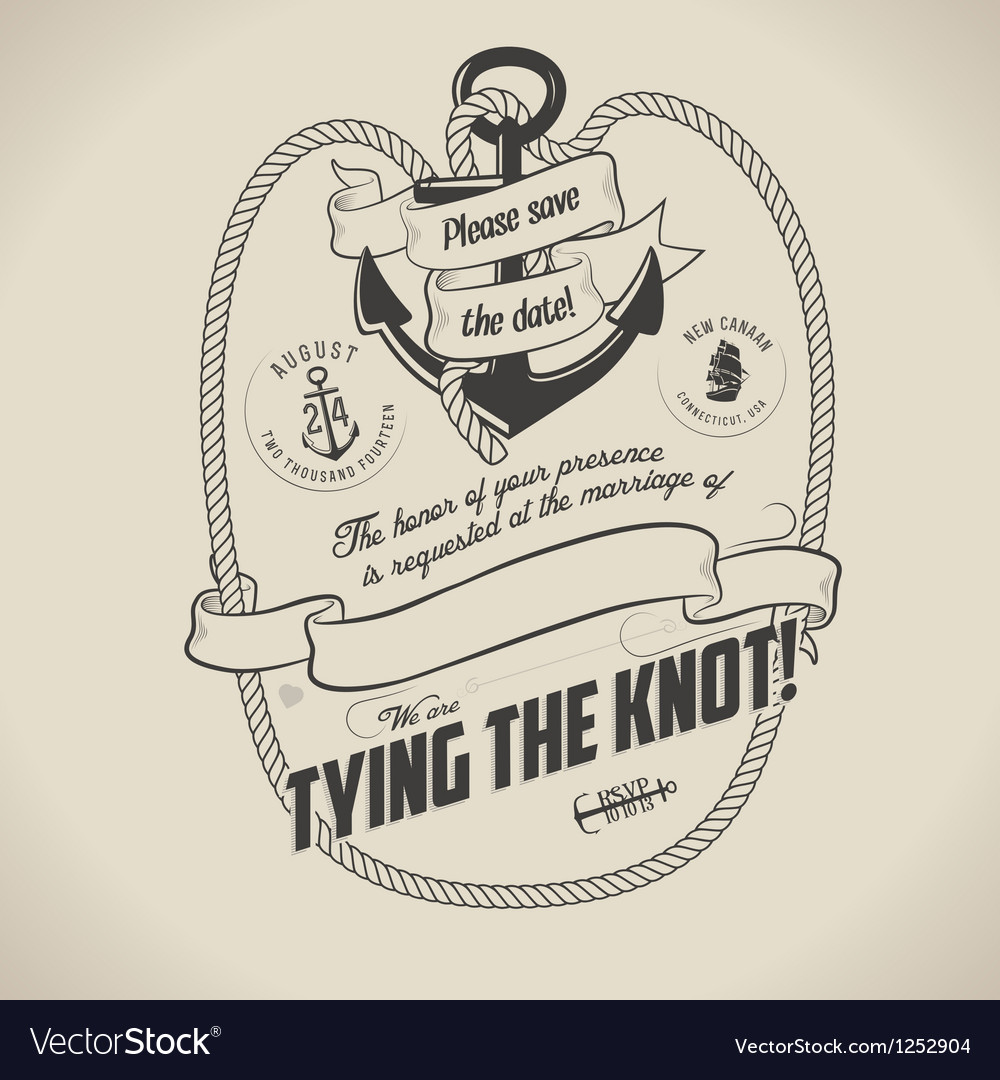 Stunning Nautical Themed Wedding Invitations Ideas - Styles & Ideas ...