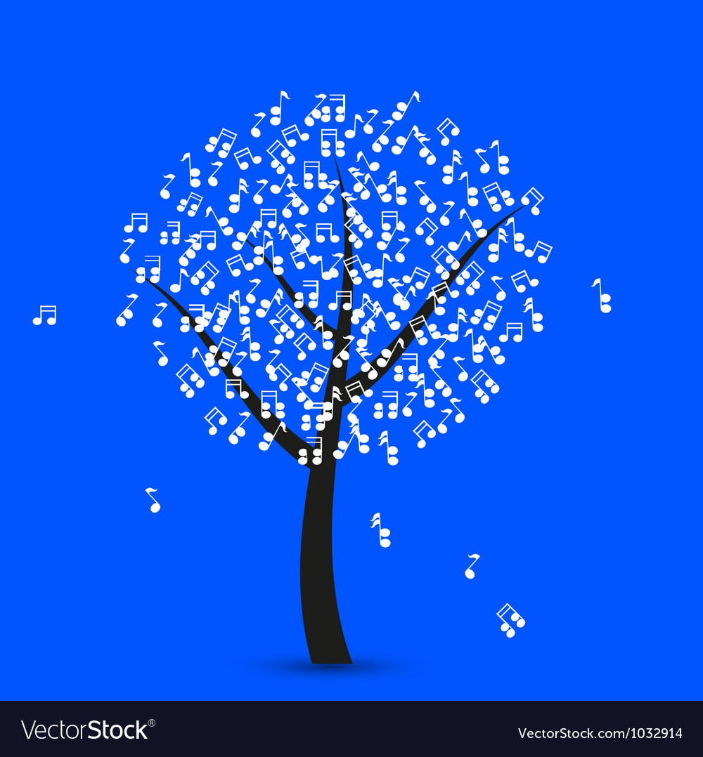 Musical Note Tree