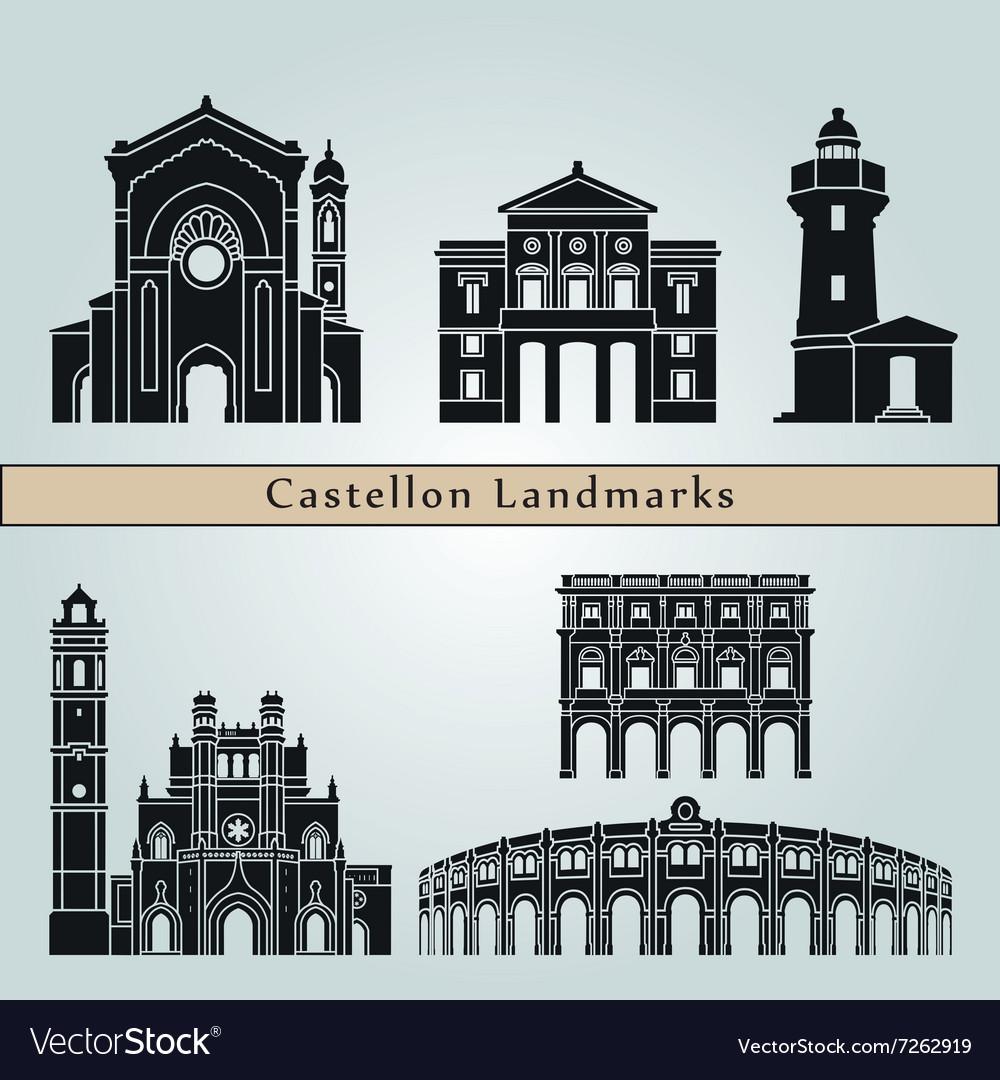 Castellon landmarks and monuments