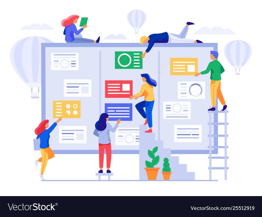 Agile Management kanban board agile project management office