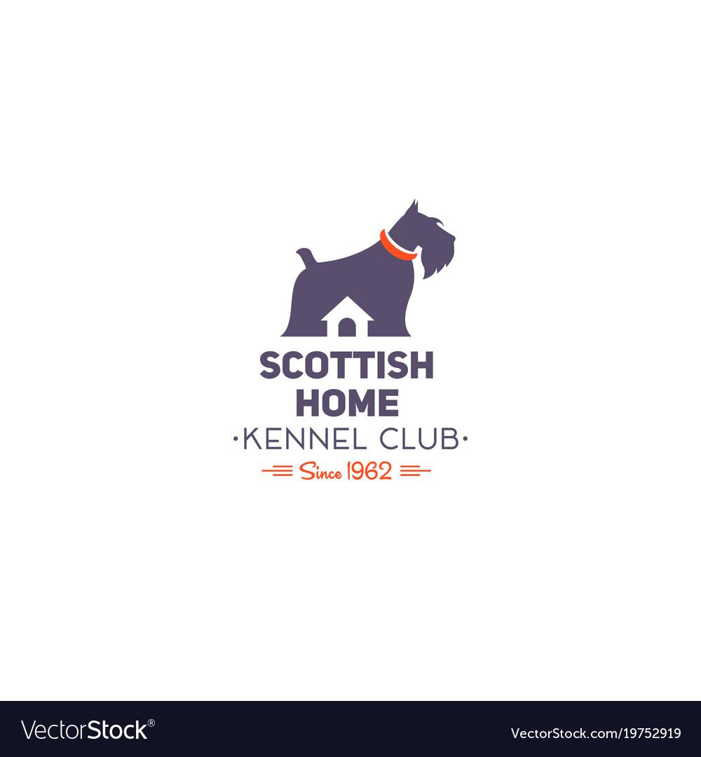 Scottish terrier club logo