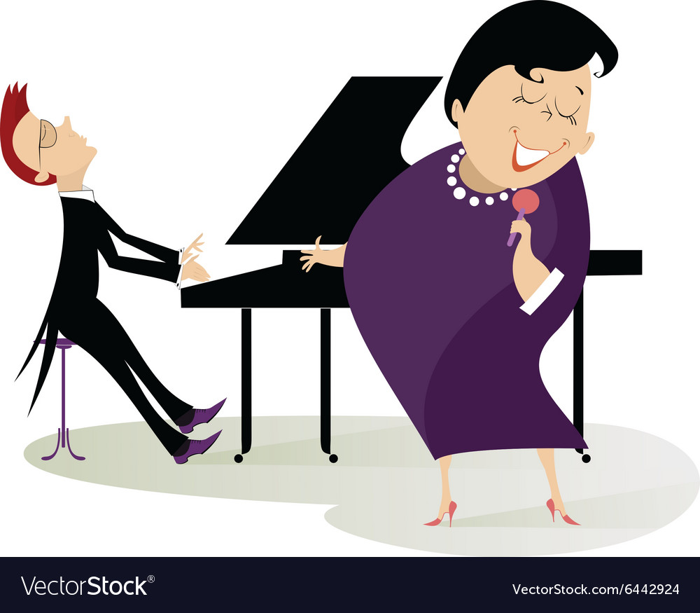 Singer and pianist