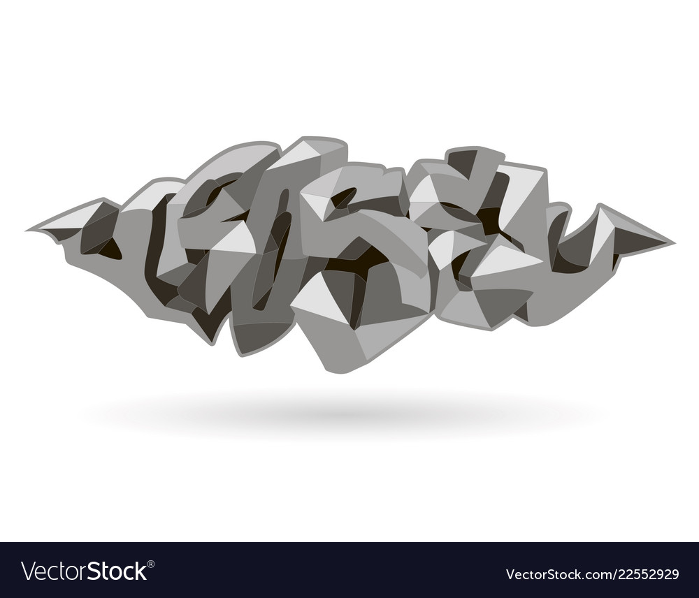 Rose inscription abstract design lowpoly