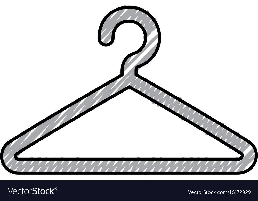 Wire Clothespin Isolated Icon Royalty Free Vector Image