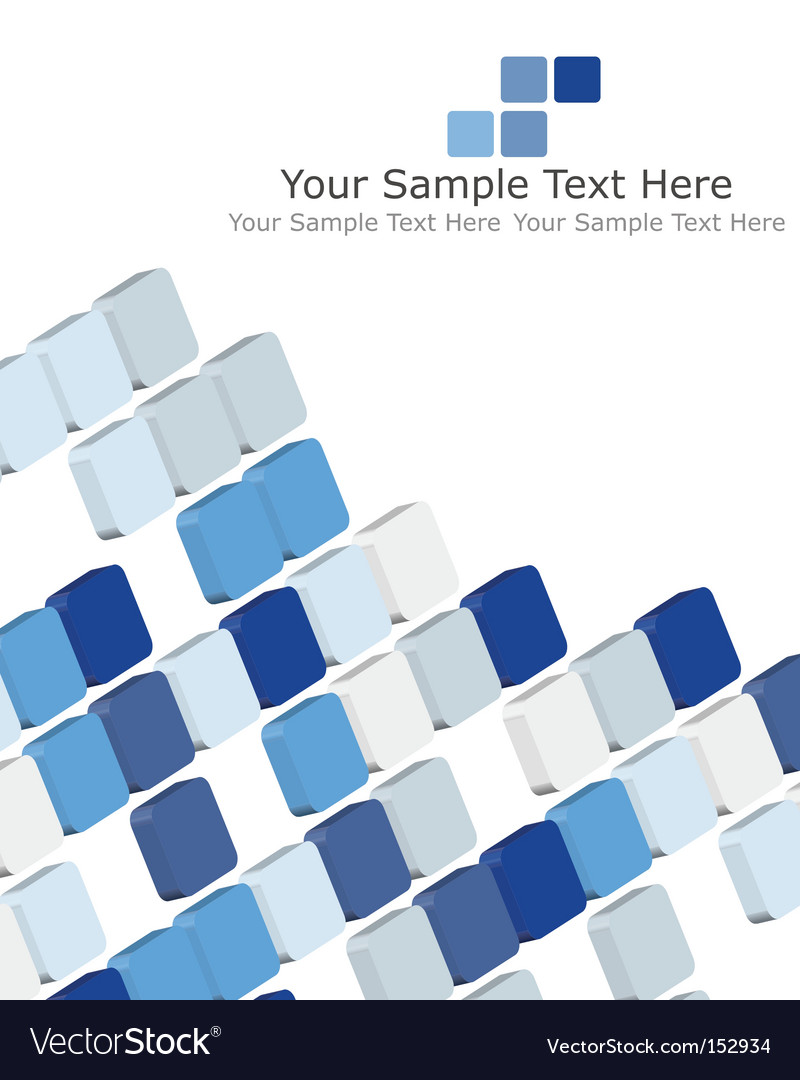 Checked background vector image