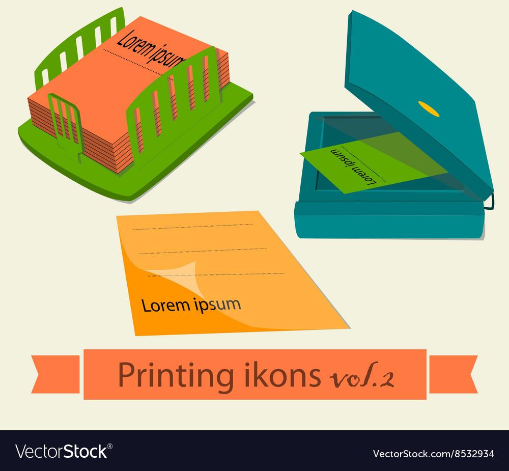 Print icons set2