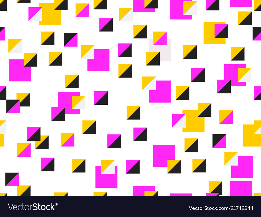 Seamless pattern with squares modern