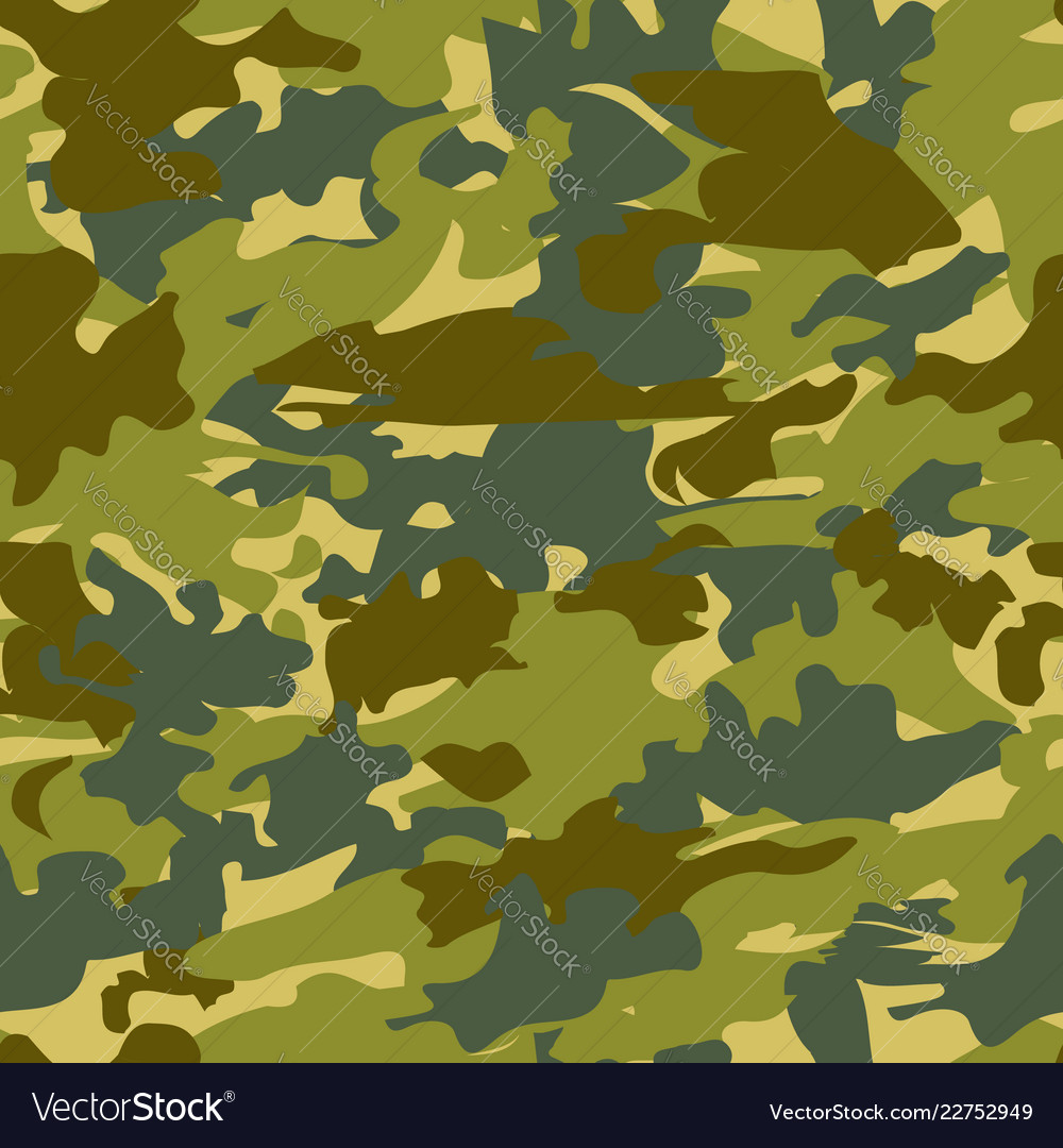 Camouflage seamless pattern background