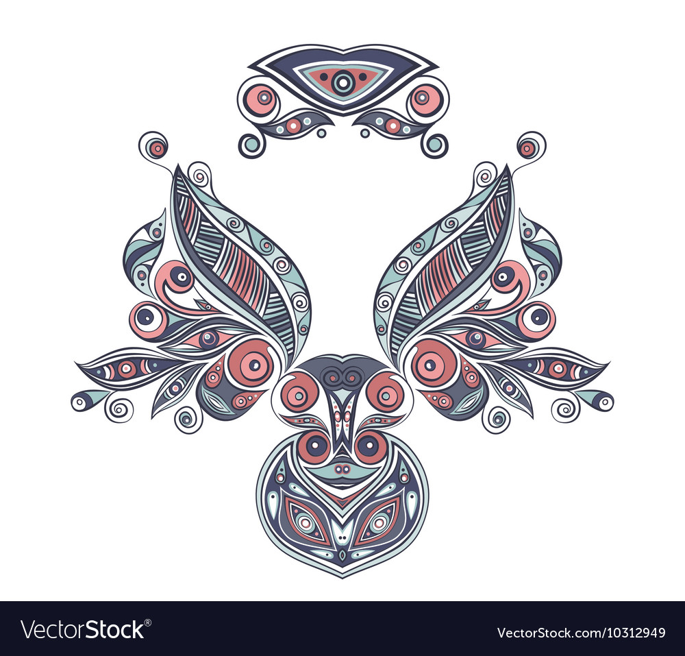 Ethnic ornament elements
