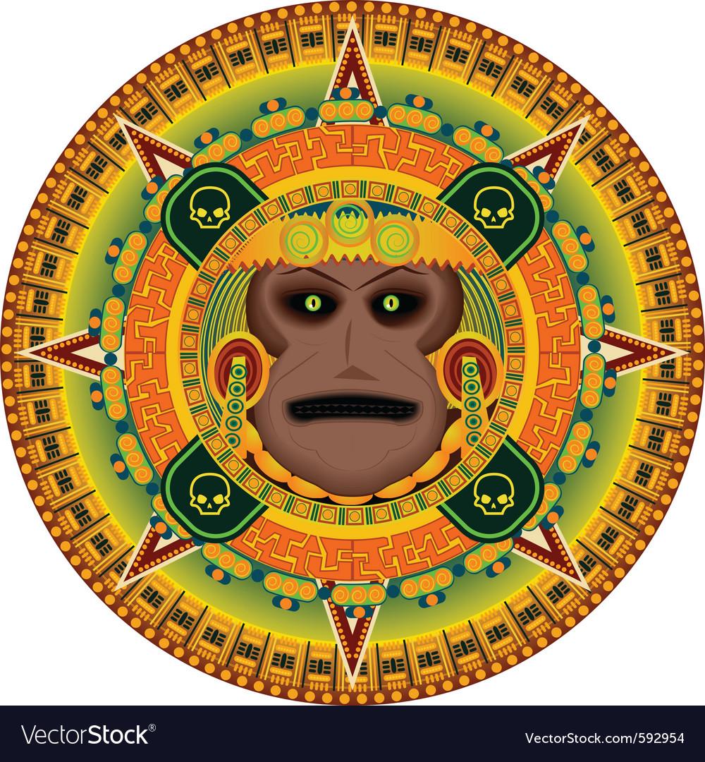 Ancient god aztec
