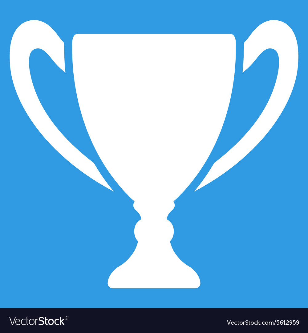 Cup icon from Competition Success Bicolor Icon vector image