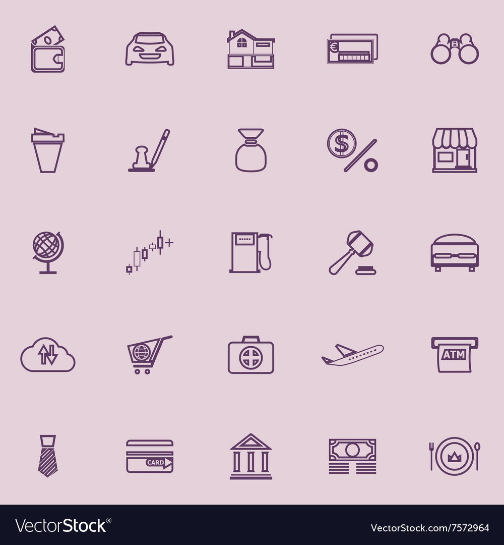 Get Wallet Icon Aesthetic Purple