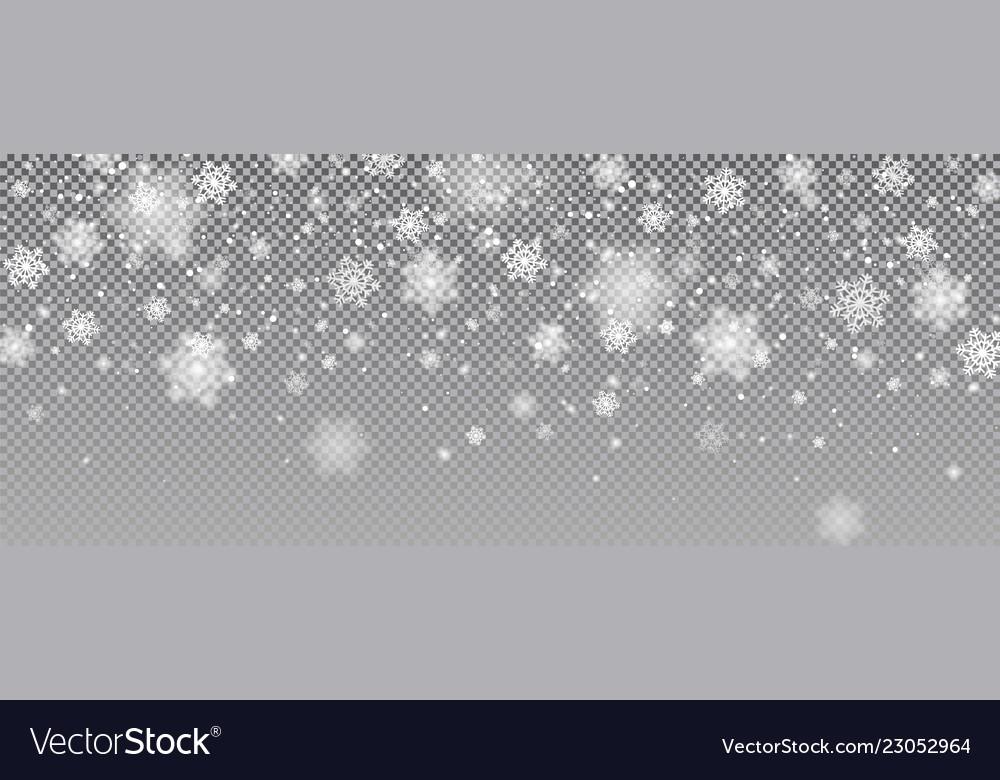 Snow falling background magic christmas