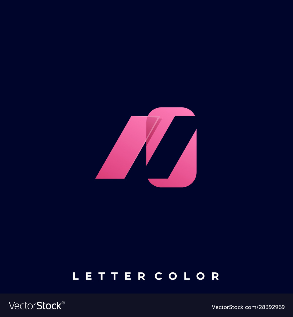 Abstract letter template
