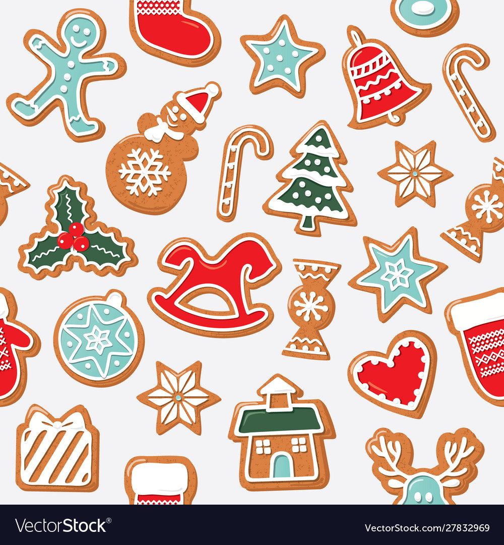 Christmas seamless background colorful