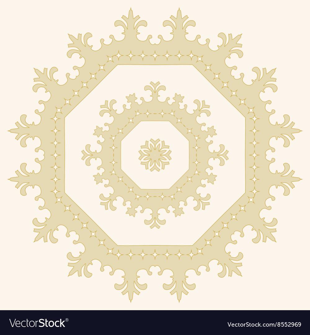 Circular ornament Mandala