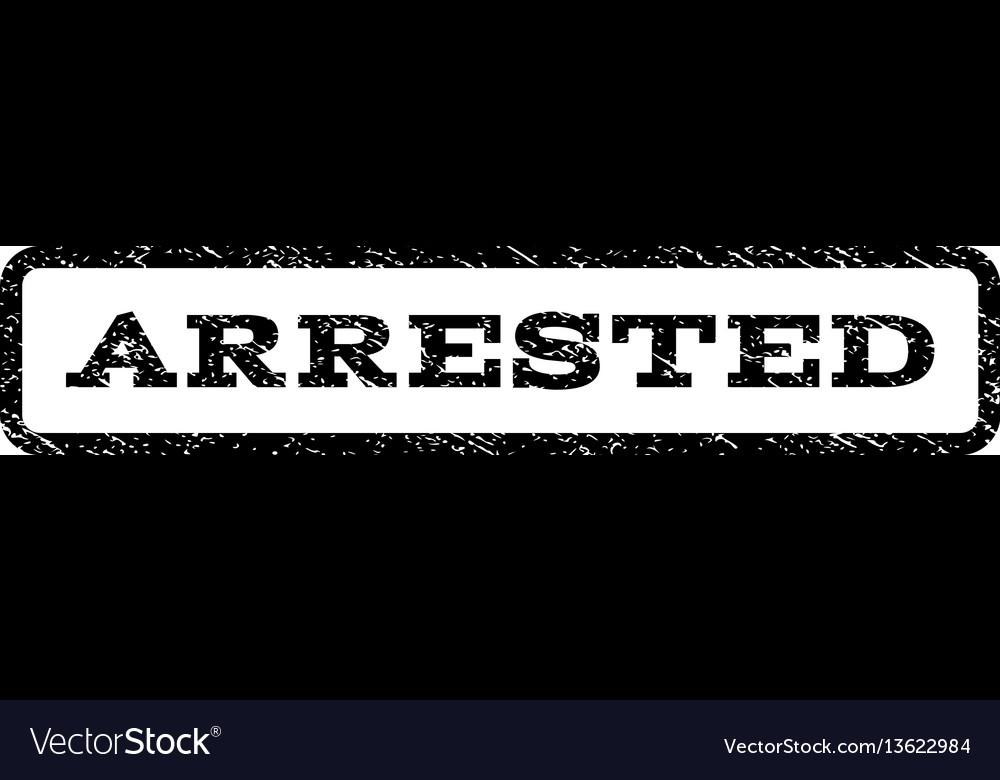 Arrested watermark stamp