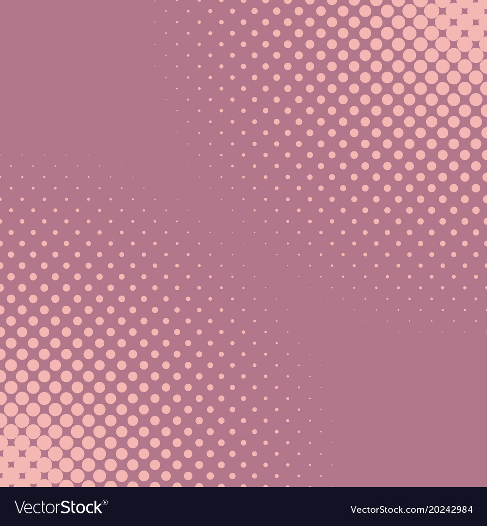 Retro halftone dot pattern background - abstract
