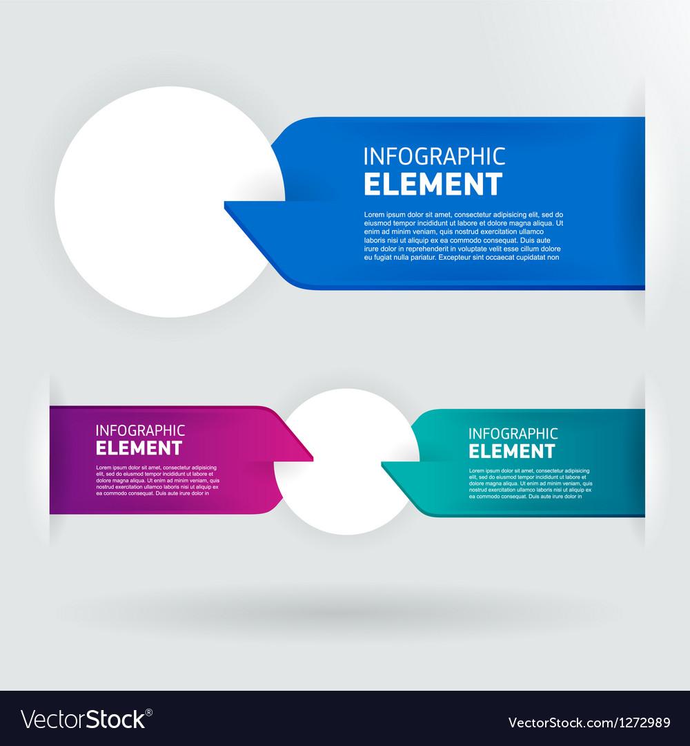 Modern number list infographic banner