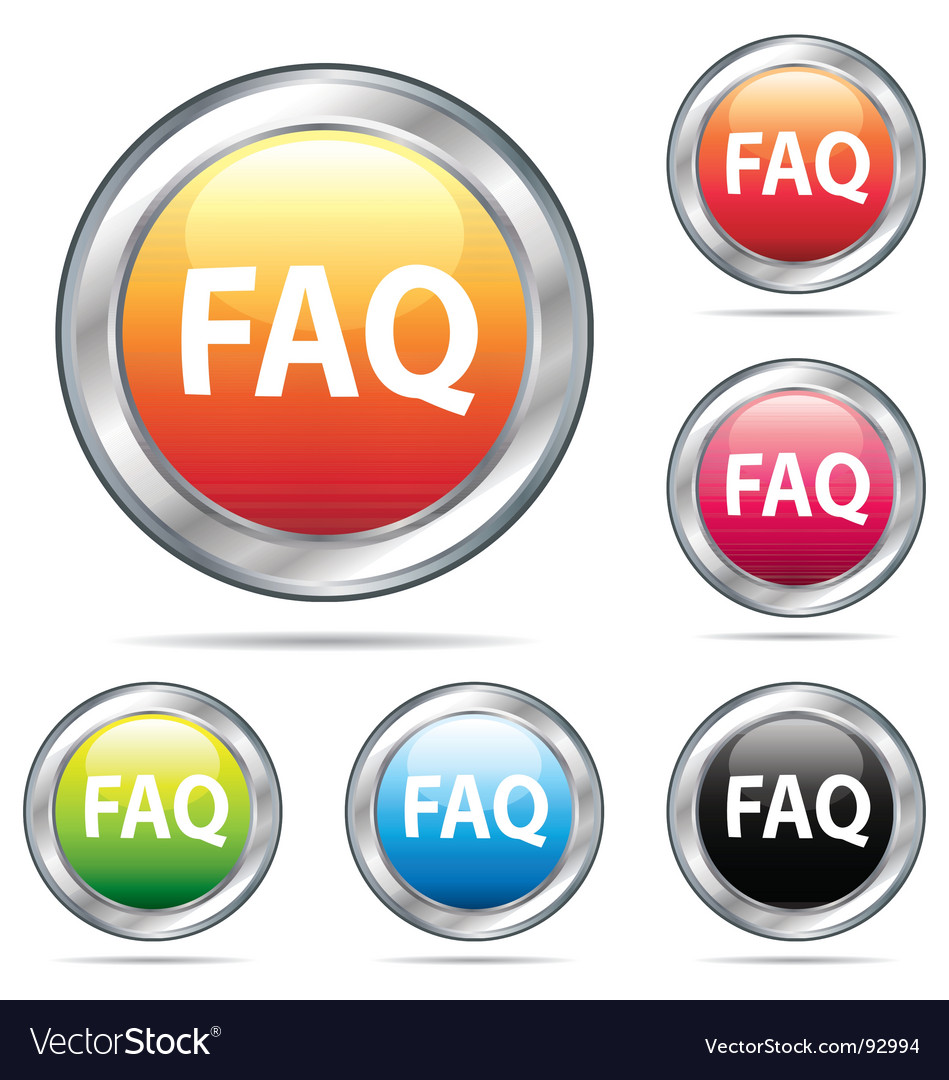 Fad icon buttons