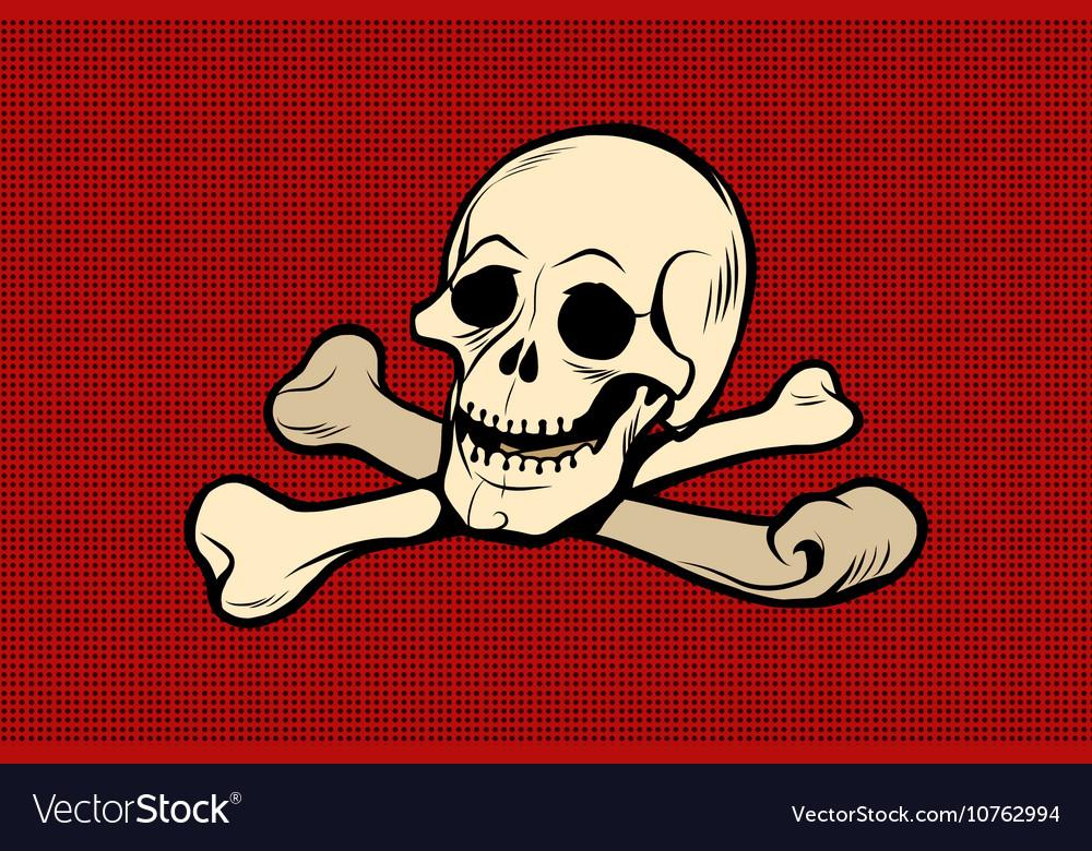 Jolly Roger The skull and crossbones