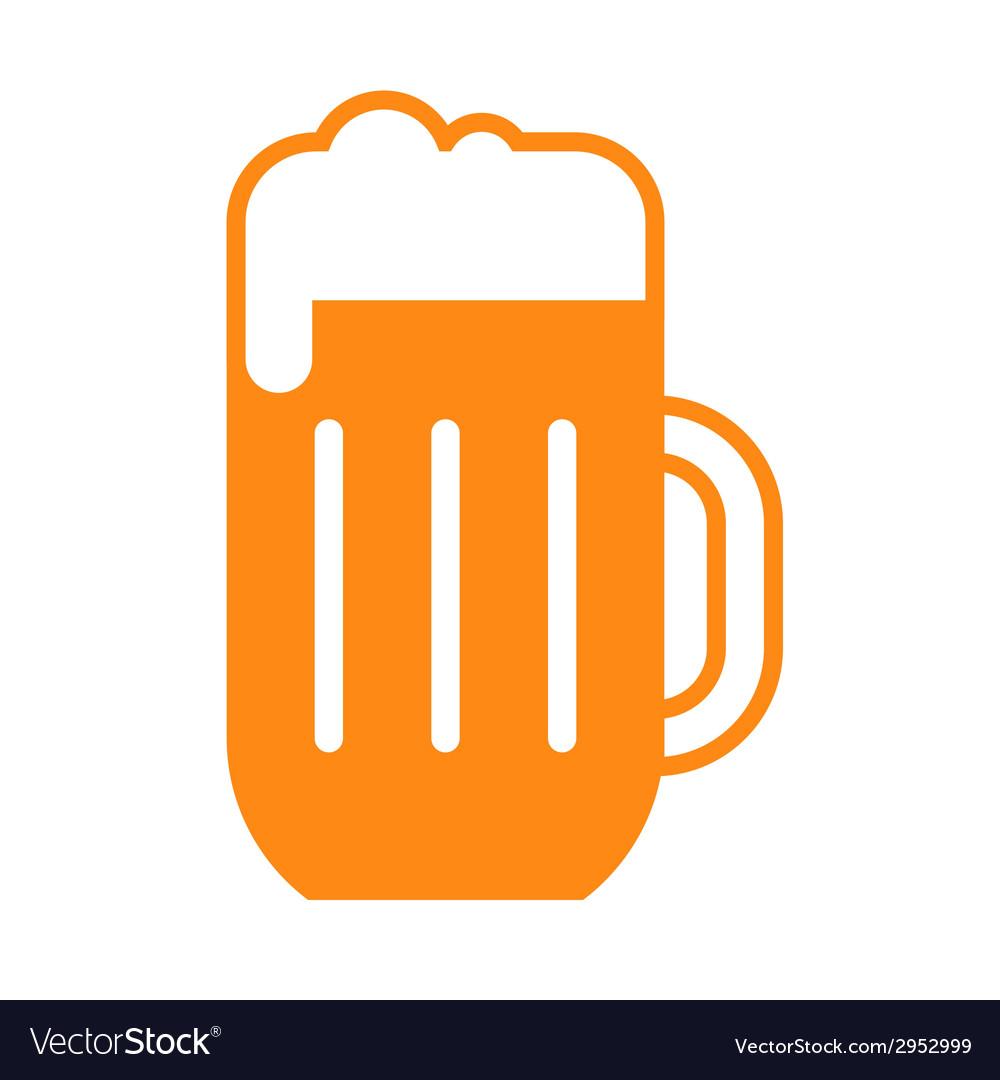 Beer glass symbol