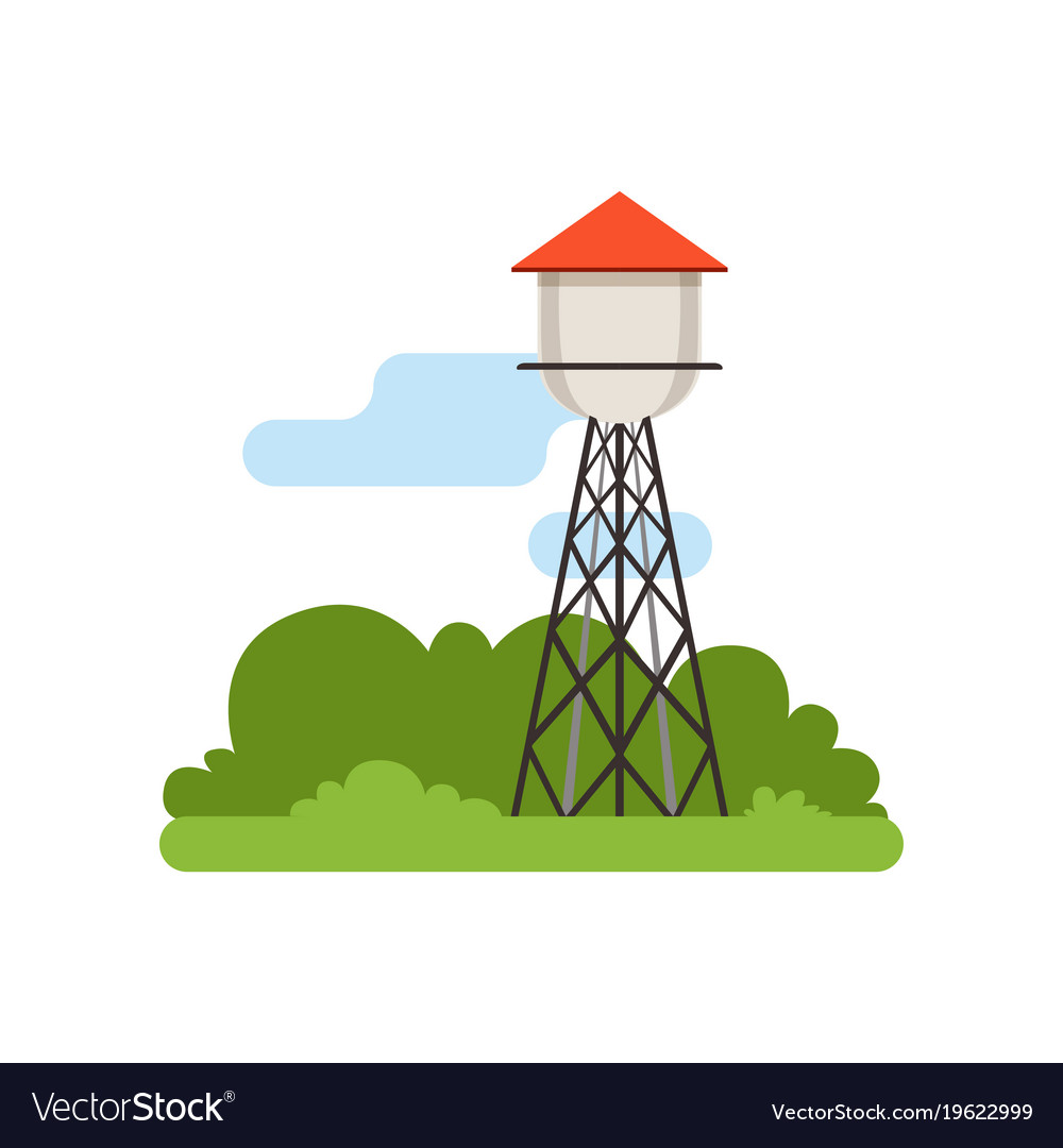 Water tower farm building countryside life