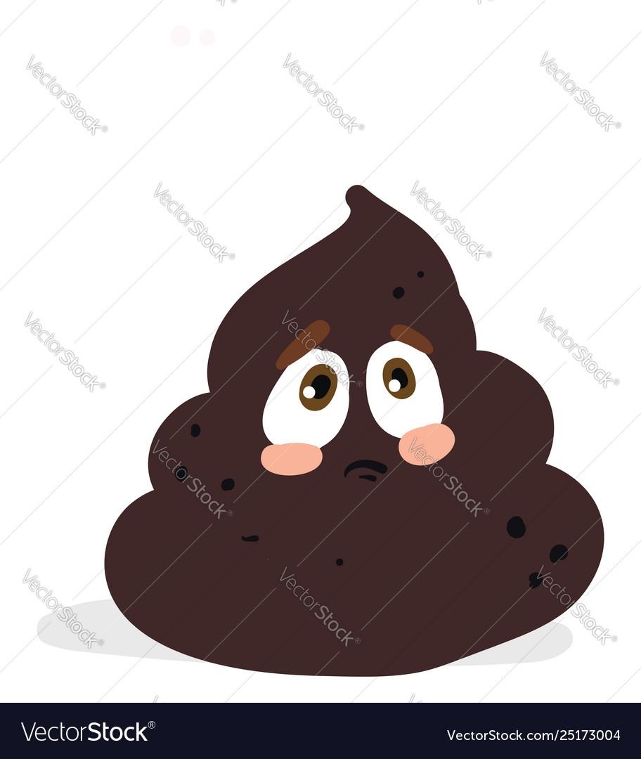 A sad poop or color