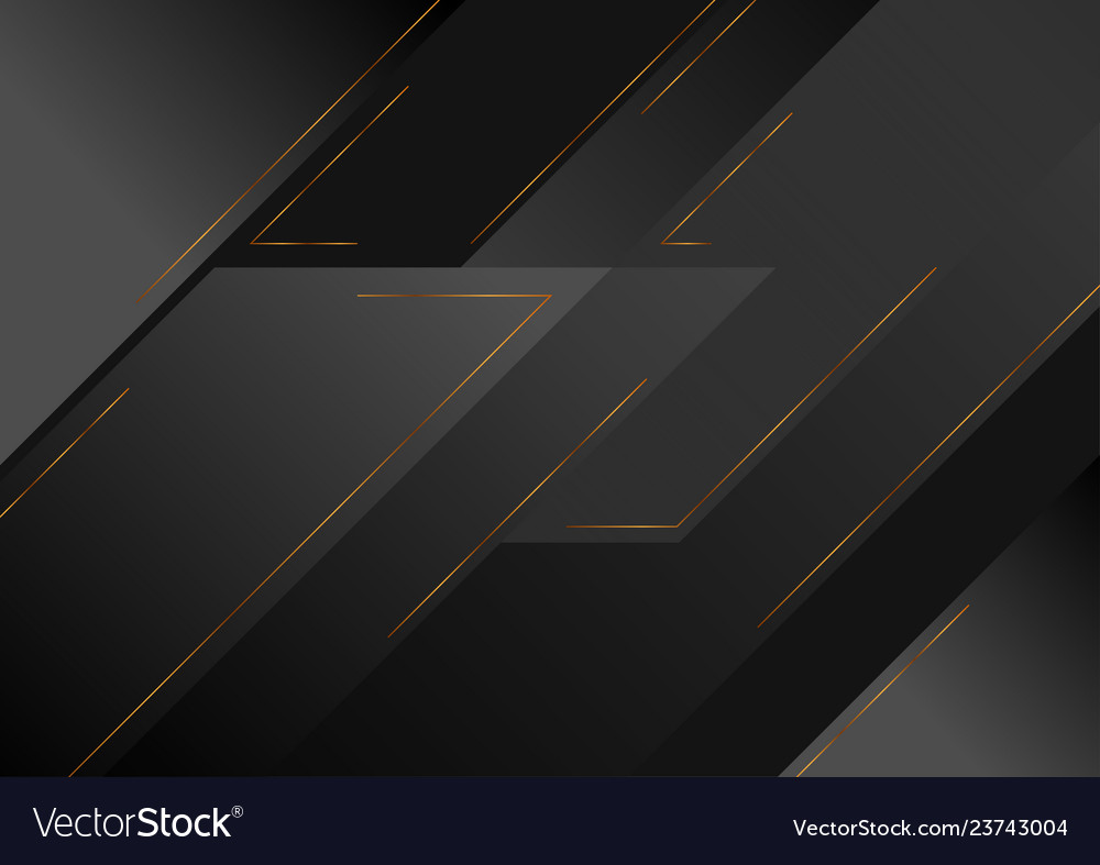 Abstract black geometric tech background