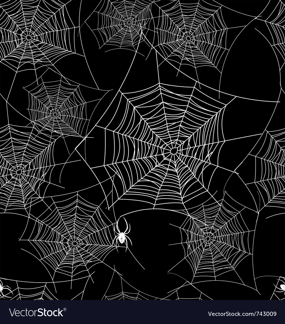 Seamless web background pattern vector image
