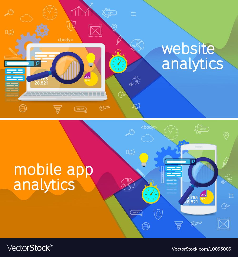 SEO data analysis concept