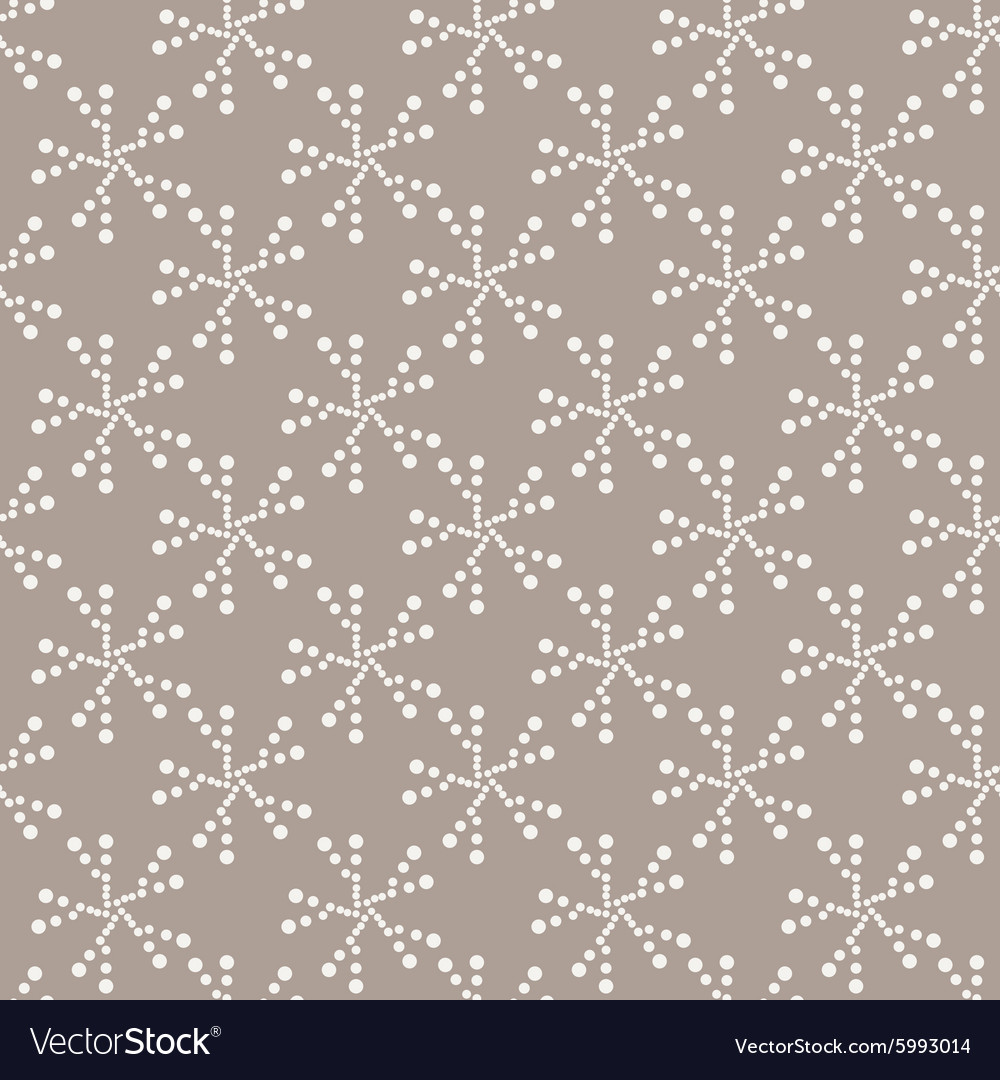 Seamless geometric pattern of dots of
