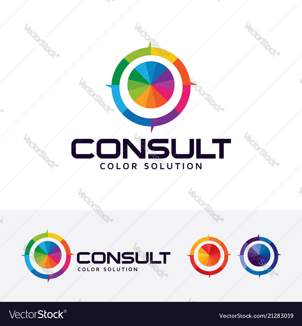 Color consult logo design