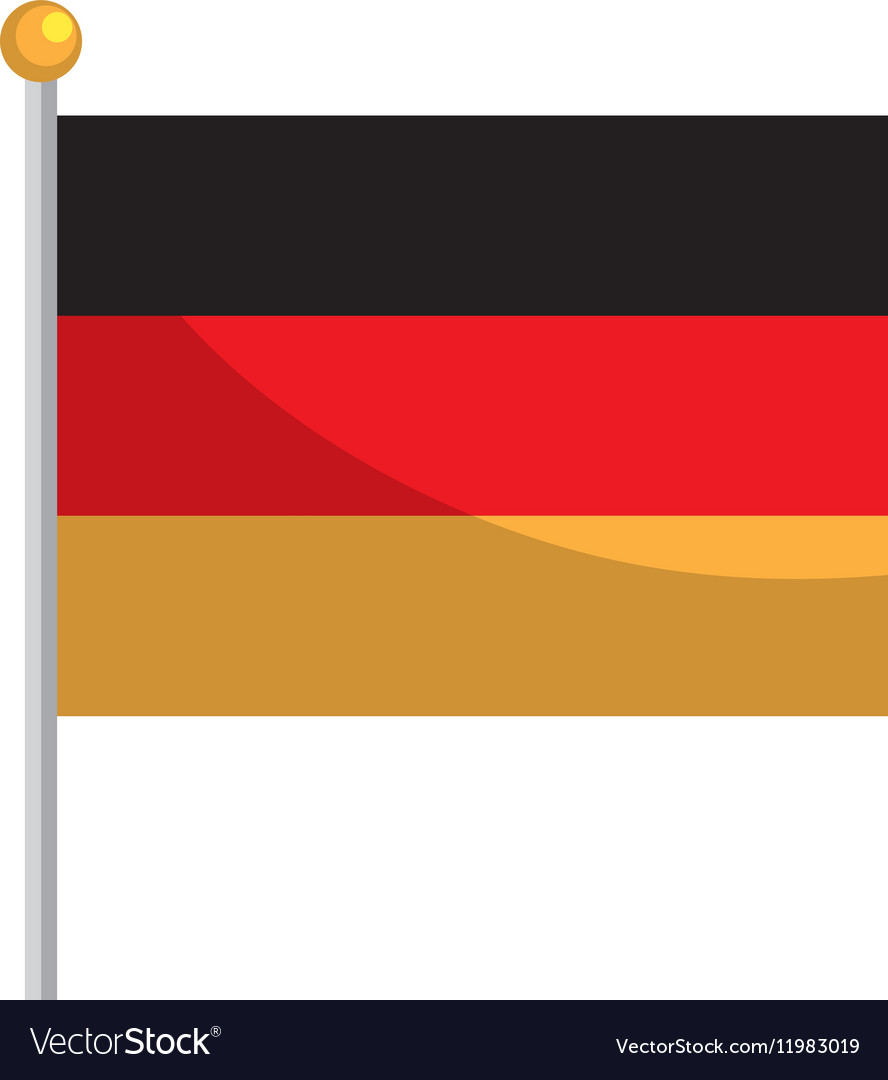 Germany flag isolated icon