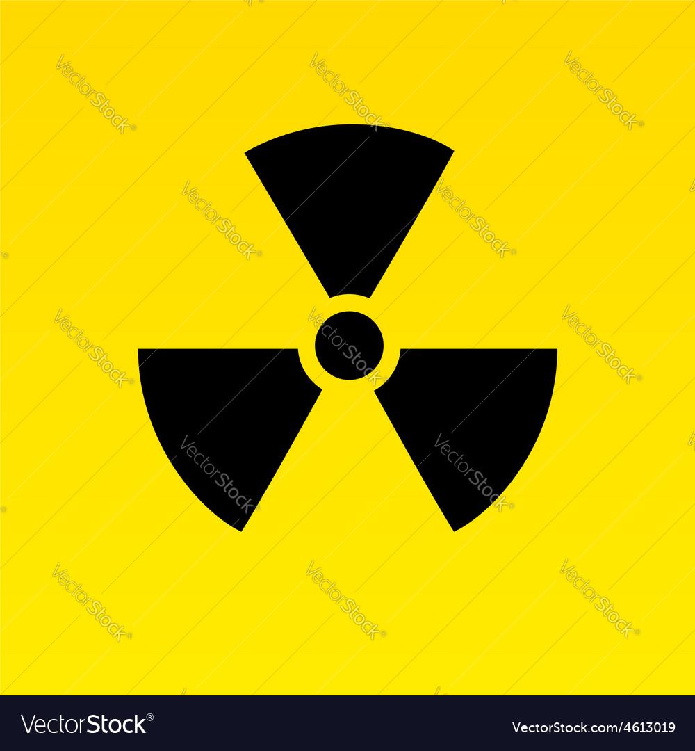 Radiation Hazard Symbol Royalty Free Vector Image