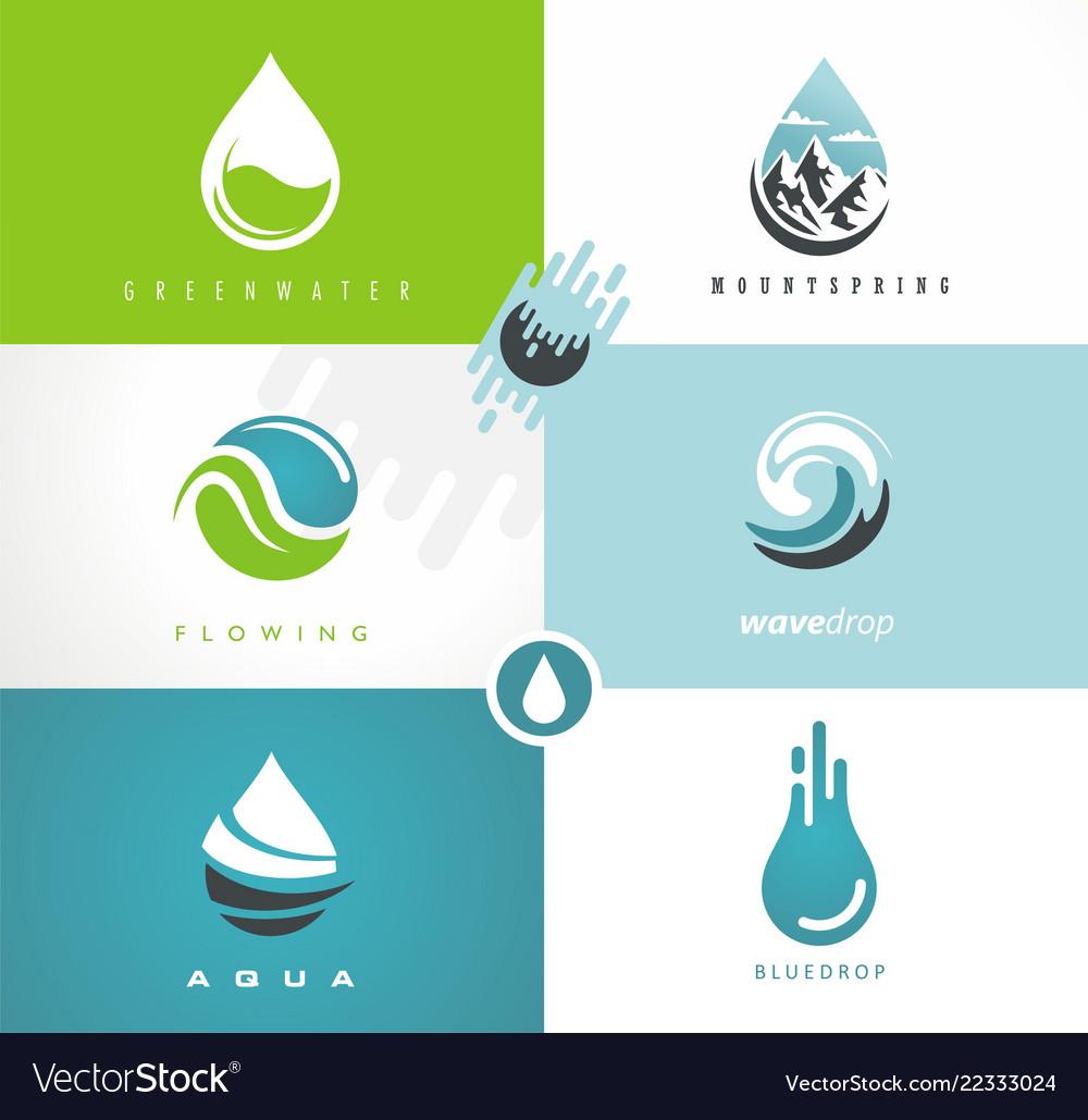 Fresh spring water logo