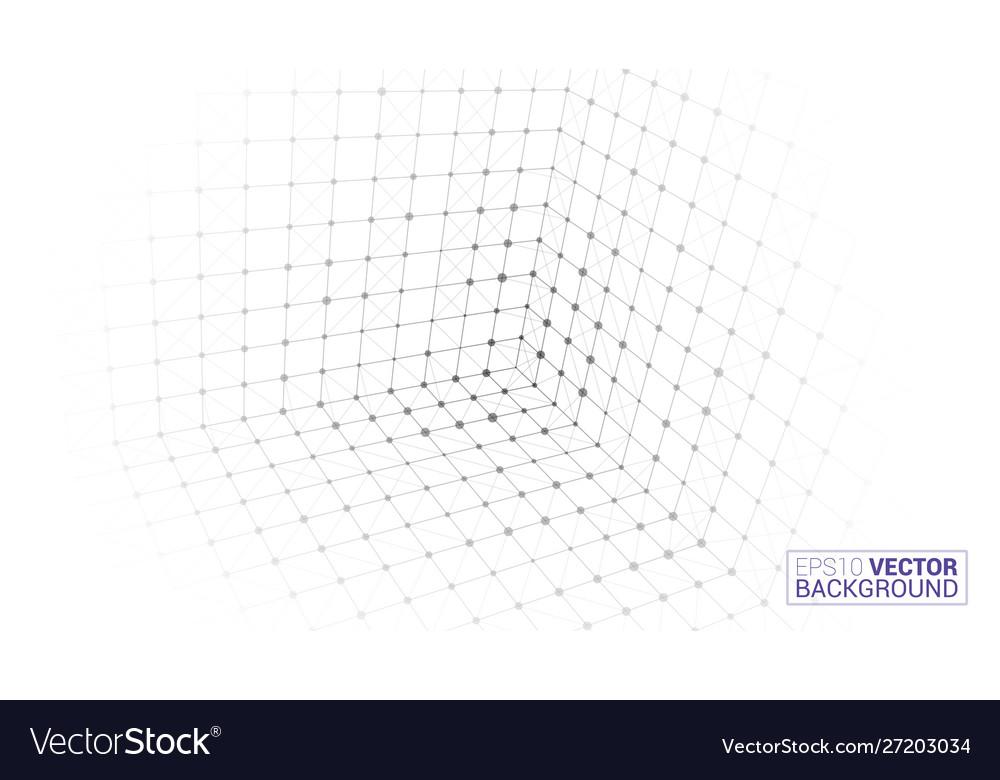 Cube icon bright creative background