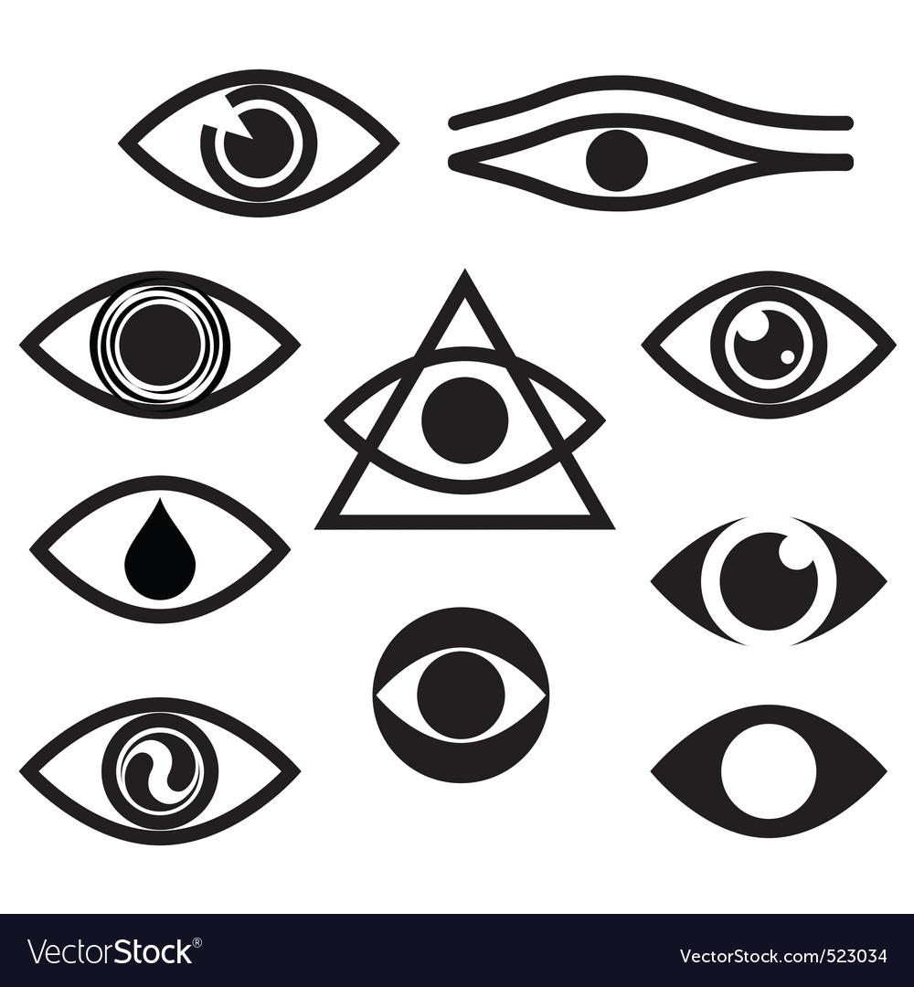 eye royalty free vector image vectorstock rh vectorstock com vector eye care calgary vector eye care