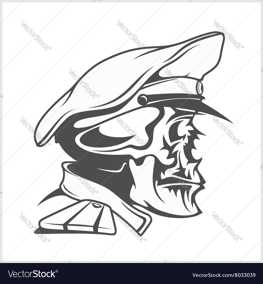 Captain Skull in a hat