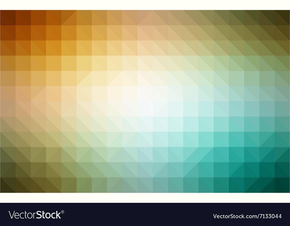 Retro pattern of geometric shapes Colorful mosaic