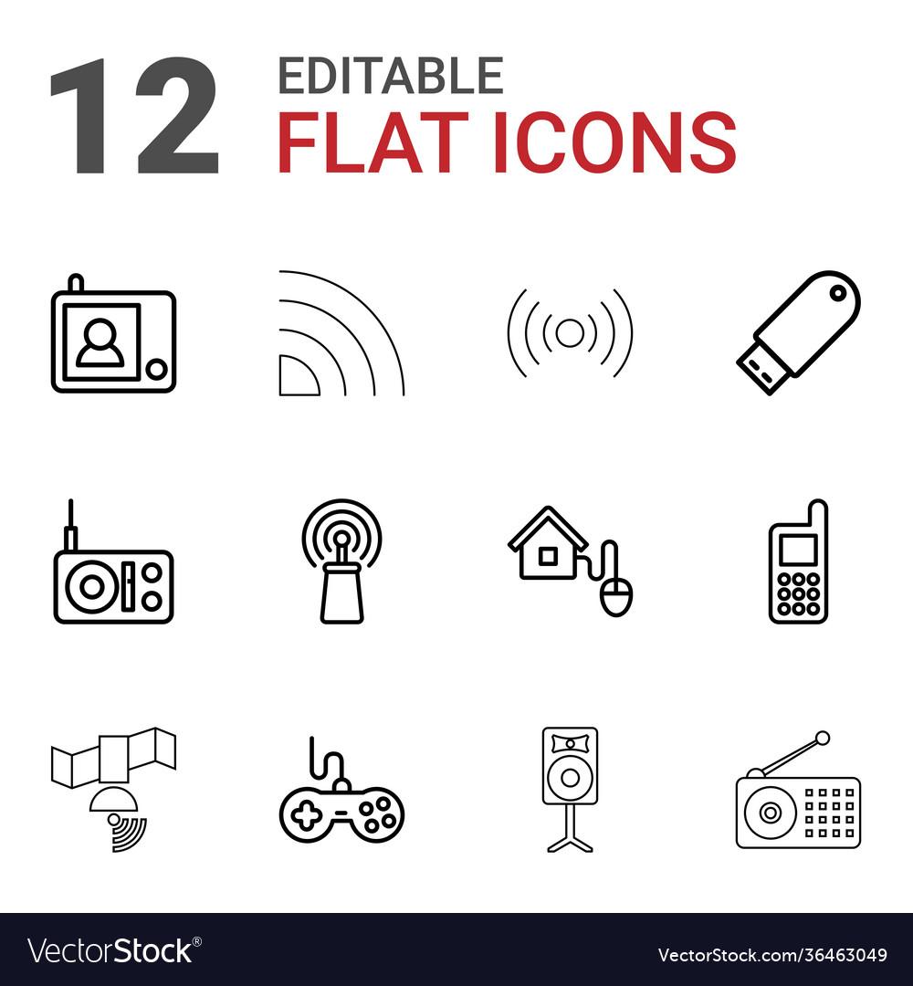 12 wireless icons