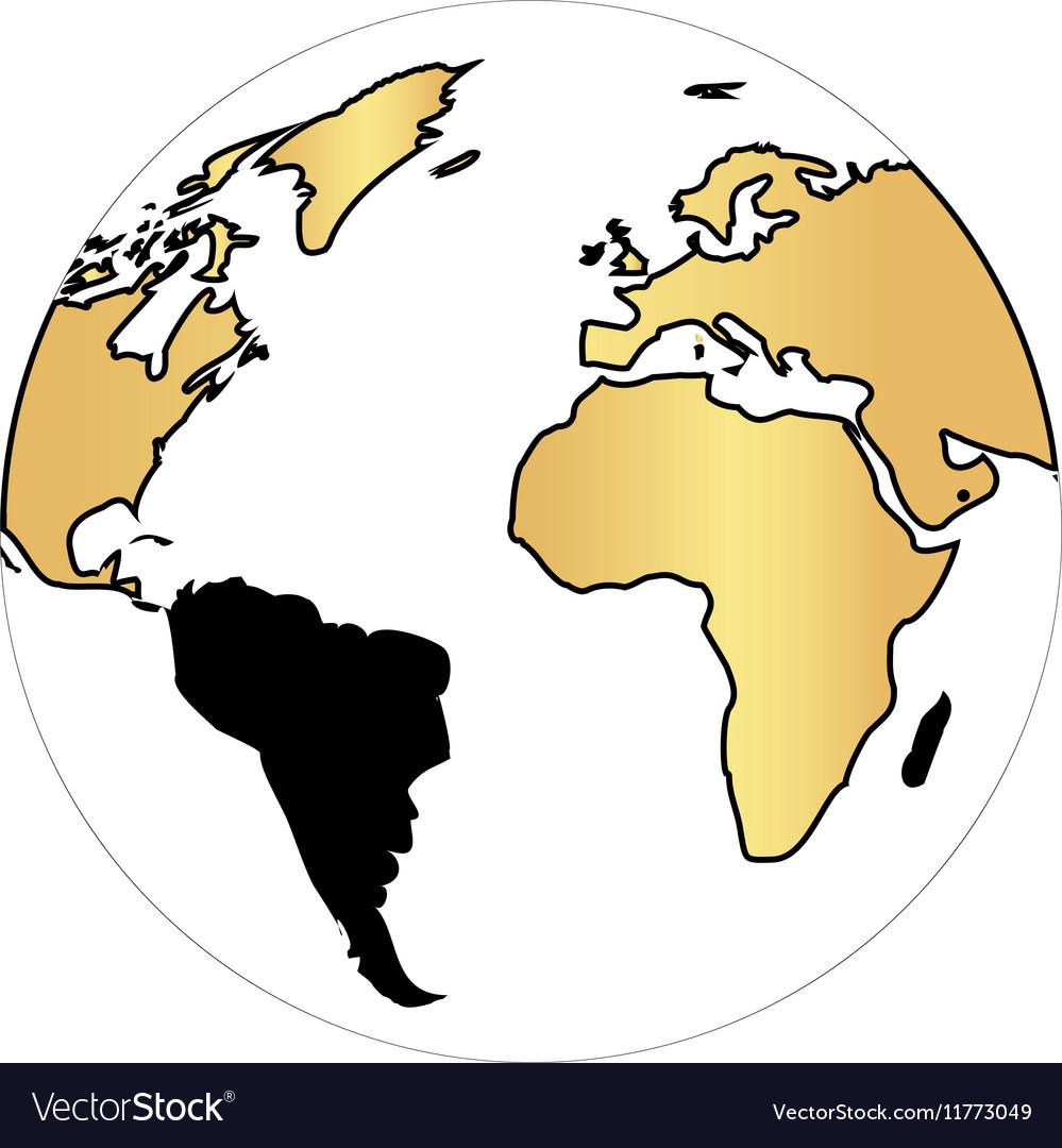 Globe earth computer symbol